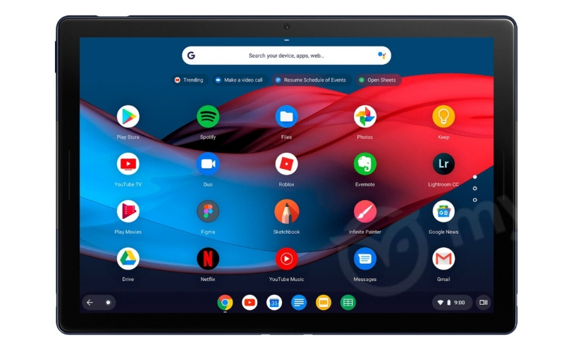 Google Launches a Pixel-Branded Premium Chromebook Tablet