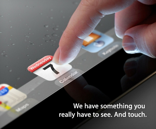 apple third-gen ipad announcement