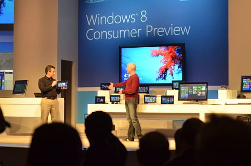 windows 8 consumer preview demonstration
