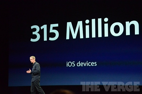 apple ios 315 million sales