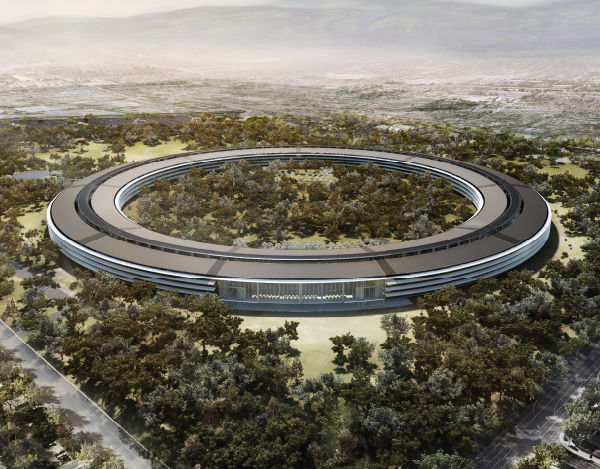 AppleSpaceshipCupertino
