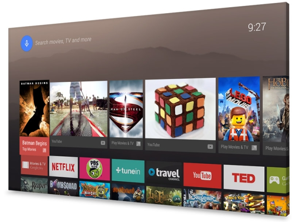 Google AndroidTV 1