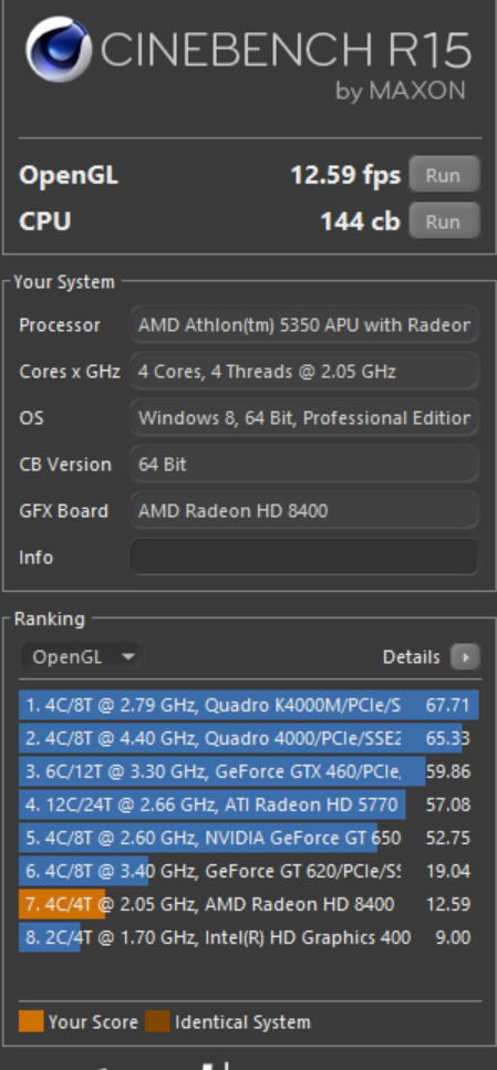 AM1-cinebench