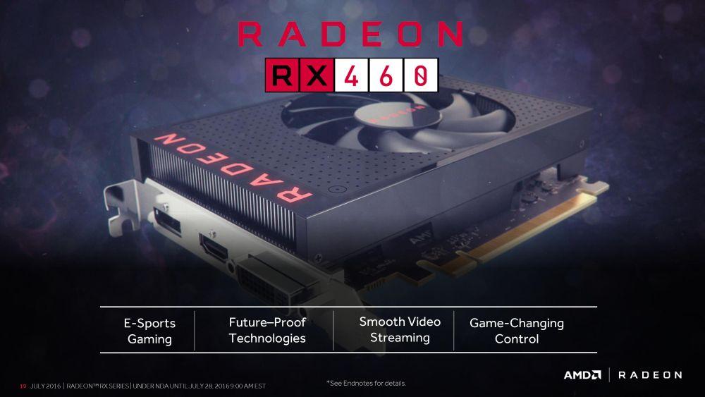 AMD RadeonRX460 1