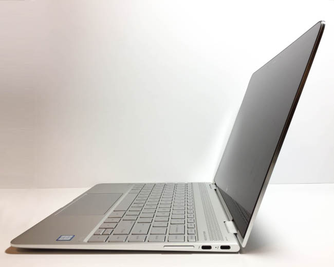 hp spectre x360 kaby lake right side open