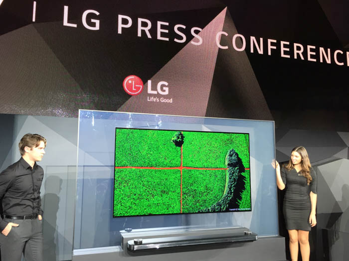 lg oled w series announcement