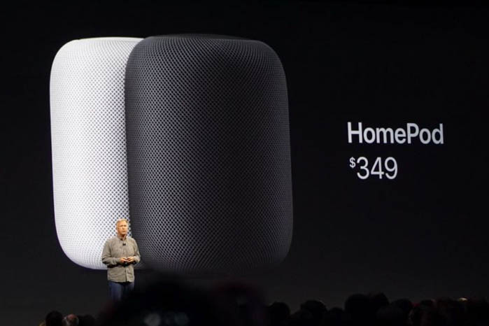 WWDC: Apple Enters Internet of Things Market with HomePod