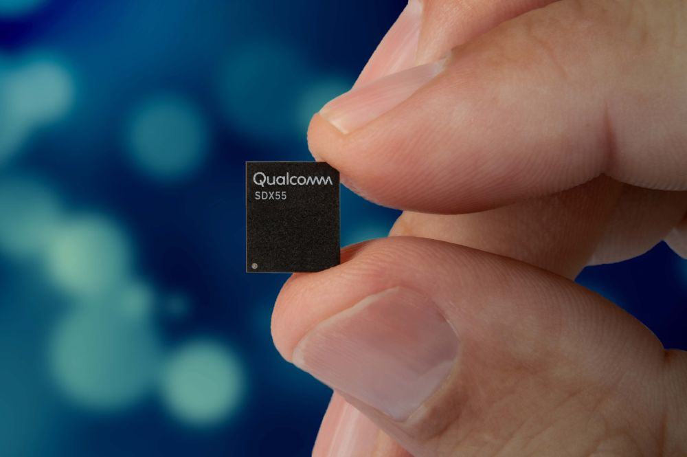 Qualcomm's Snapdragon X55 5G modem can reach 7Gbps download speeds