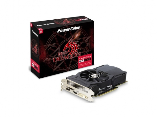 Powercolor unveils Red Dragon RX 550 2GB