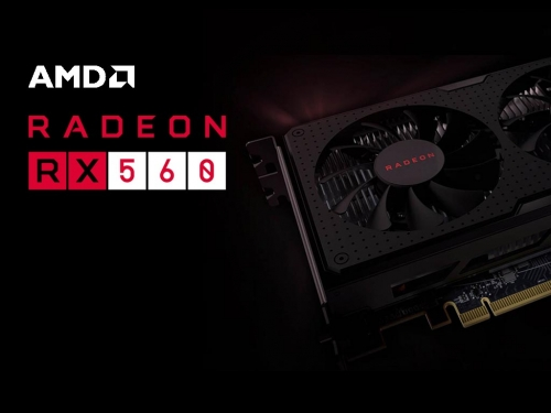 AMD launches Radeon RX 560 without much fuss