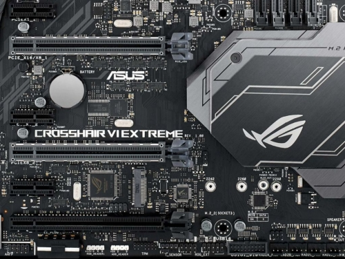 Asus shows its flagship AM4 motherboard