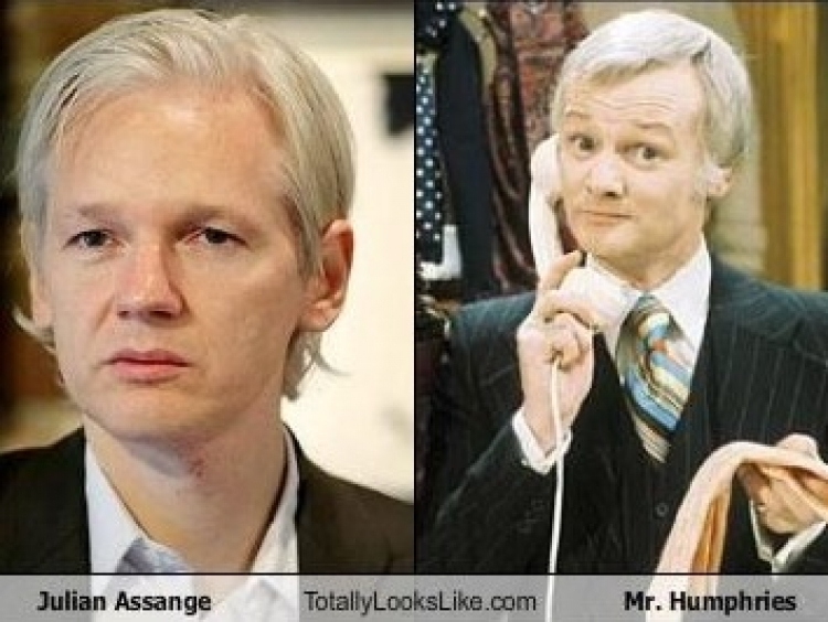 Assange claims he is going to be thrown out of the Embassy
