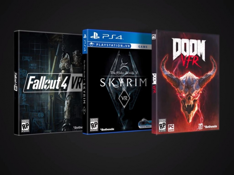 Skyrim VR, Doom VR and Fallout 4 VR Editions Dated