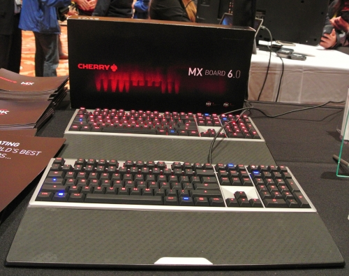 Cherry unveils MX Board 6.0 at CES 2015