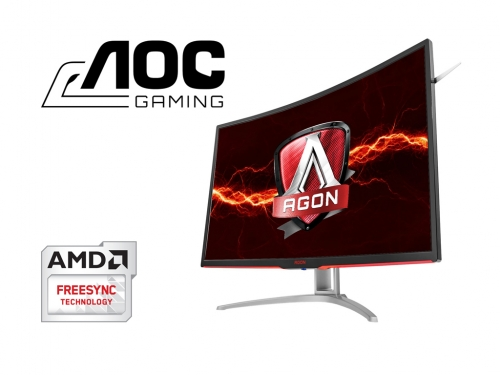 You can buy AOC's curved 32-inch AGON monitor now