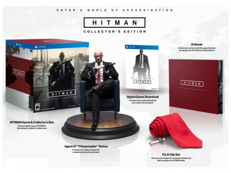 Play the Hitman Beta and Win a Collector's Edition of the Game