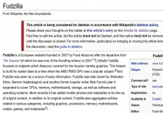 Wikipedia editors try to kill Fudzilla again