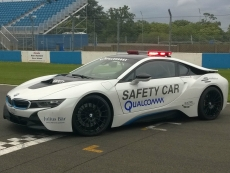 Qualcomm wirelessly charges BMW safety car