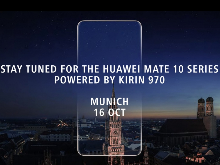 Huawei confirms Mate 10 series announcement for October 16