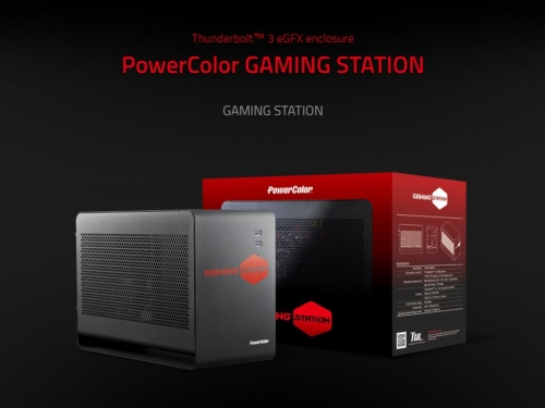 Powercolor unveils new Gaming Station eGFX box