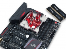 EK Water Blocks unveils new Asus Maximus VIII Extreme Monoblock