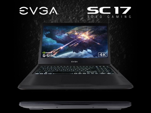EVGA launches new SC17 1080 gaming notebook
