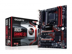 Gigabyte rolls out new GA-990X-Gaming SLI AM3+ motherboard