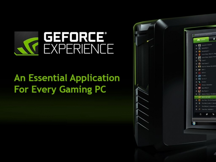 Nvidia's faster, better GeForce Experience 3.0 launches with mandatory registration