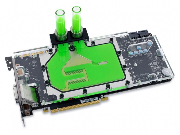 EKWB launches full-cover block for EVGA GTX FTW2 cards