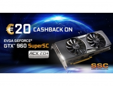 EVGA offers €20 Cashback for GTX 960 SuperSC ACX 2.0+