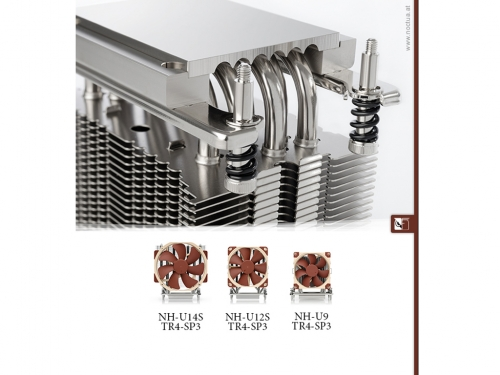 Noctua releases three AMD Threadripper and EPYC coolers