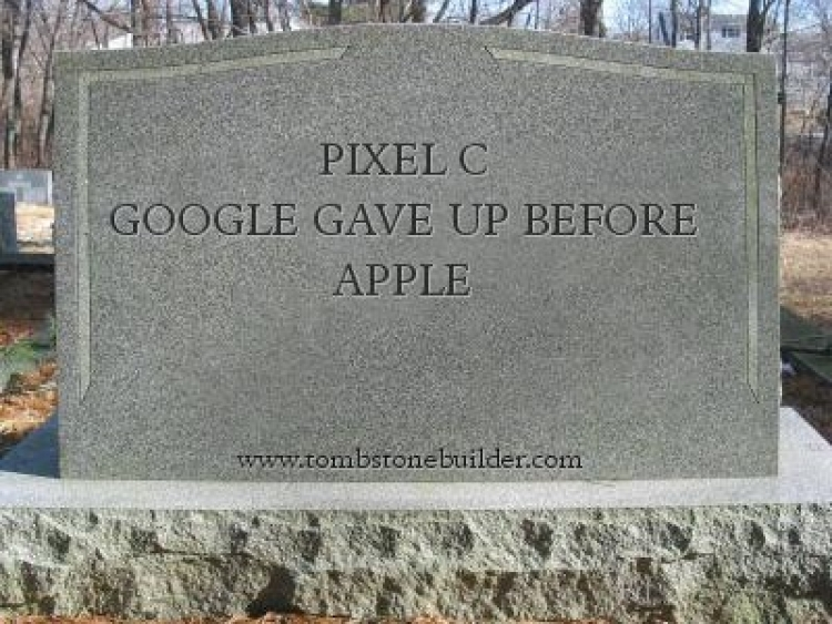 Google Discontinues Pixel C In Favor of Pixelbook