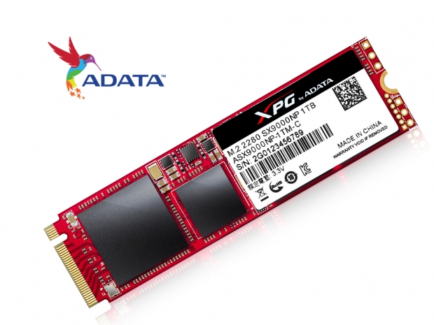 ADATA launches new XPG SX9000 PCIe M.2 SSD