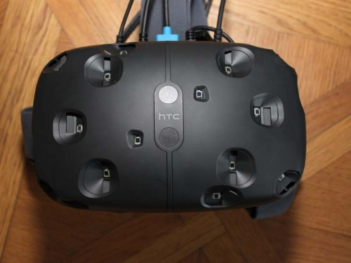 HTC Vive headset previewed
