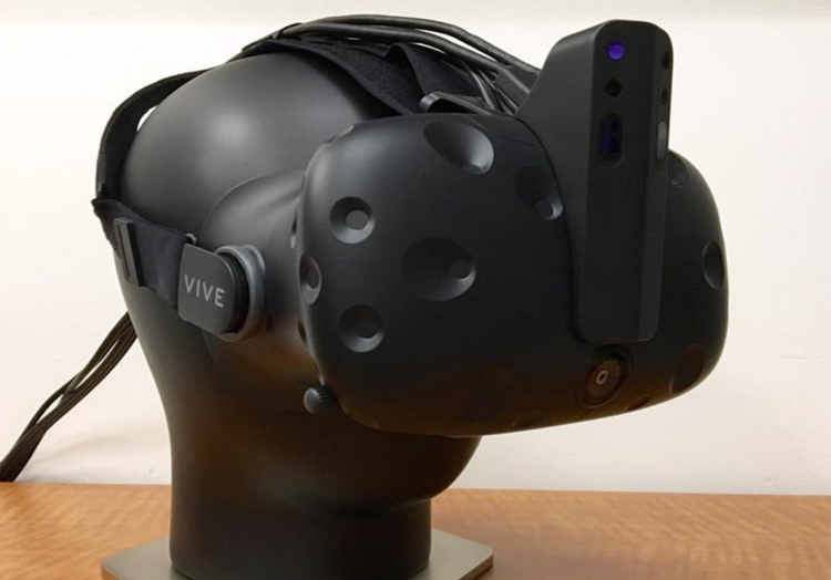 Intel is working on a depth sensor for the HTC Vive