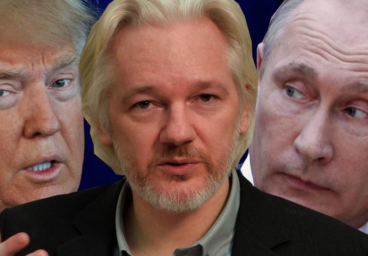 Republican Congressman Meets With WikiLeaks Founder Julian Assange