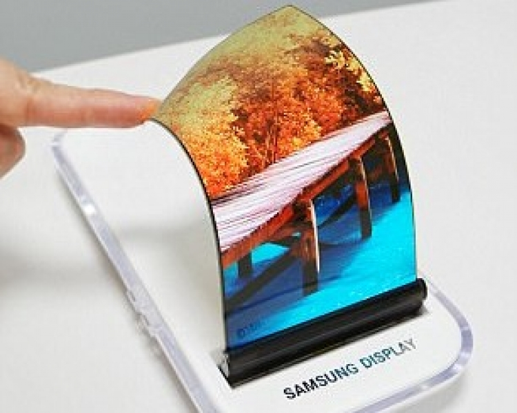 Samsung unveils the world's first 'stretchable' display