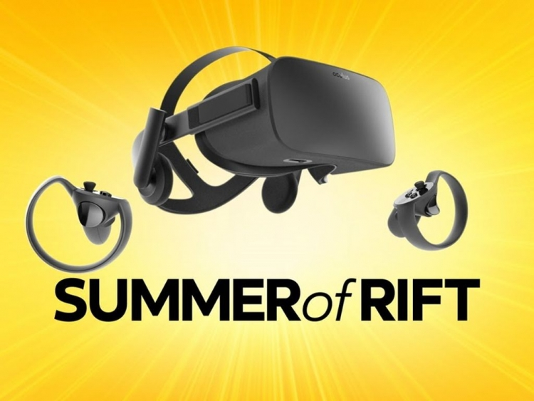 Oculus Rift VR and Touch Drops in Price by 33% to $399