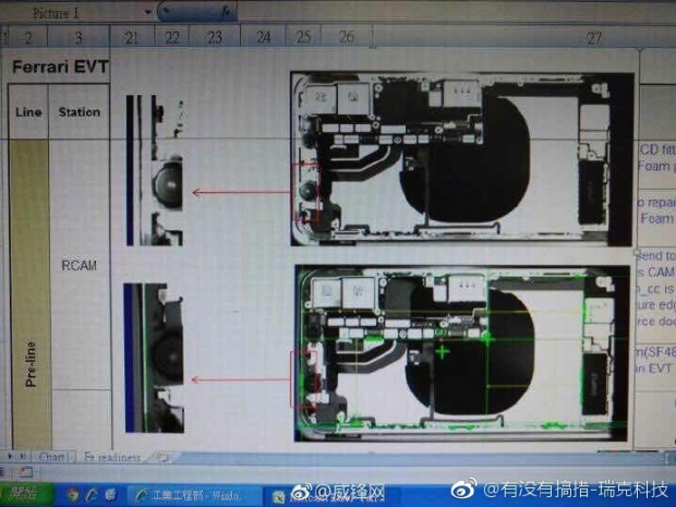 Foxconn employee leaks iPhone's internals