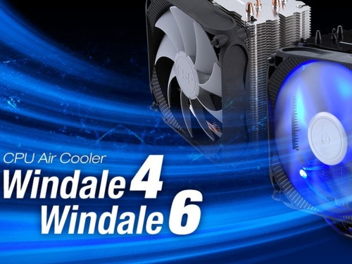 FSP launches two Windale CPU coolers