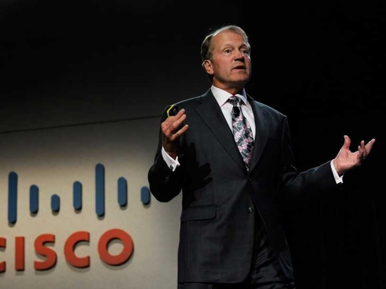 Cisco's John Chambers to step down as executive chairman