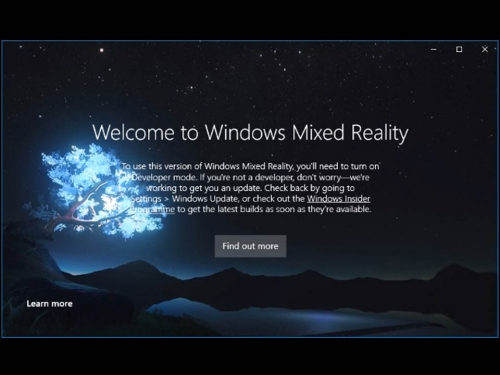 Windows Mixed Reality demo is somewhat unrealistic