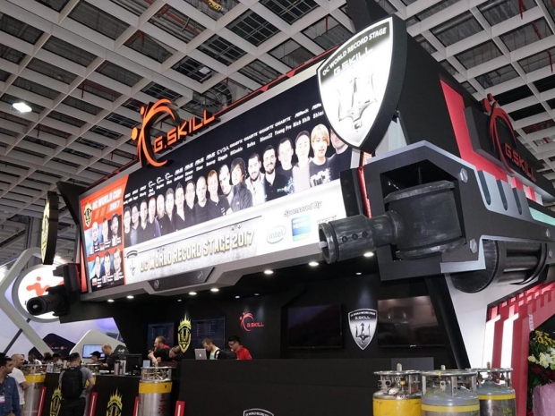G.Skill shows Trident Z DDR4-4800 at Computex 2017
