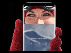 Galaxy S8 eye iris unlocking in near dark