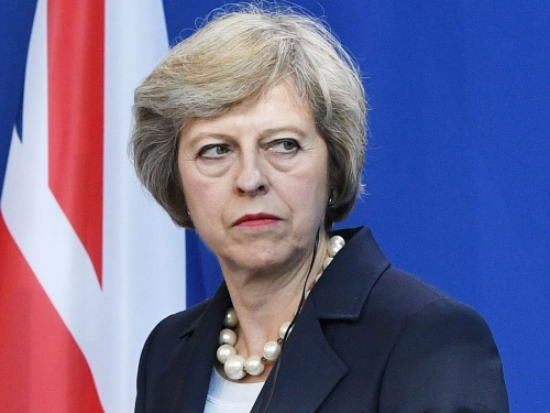 Weakened and unstable British PM declares war on encryption