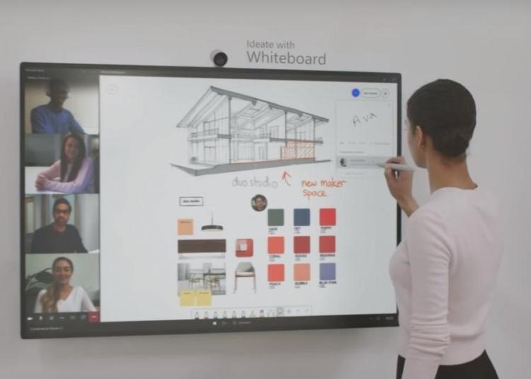 Microsoft Unveils Its Bigger, Better Surface Hub 2S