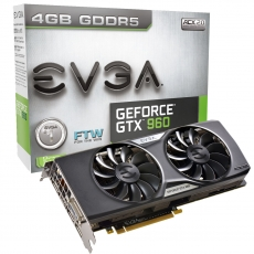 EVGA announces three GTX 960 4GB graphics cards