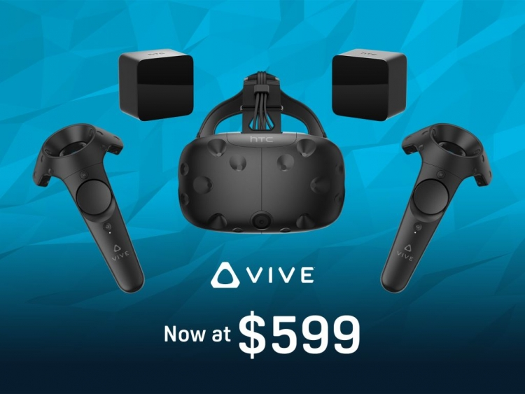 HTC announces US$200 cut for Vive
