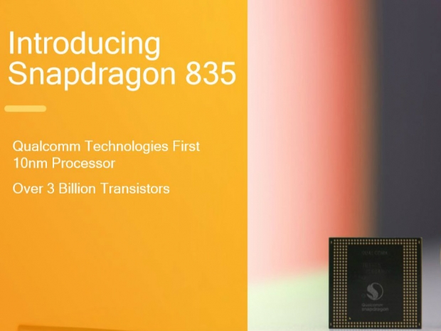 Snapdragon 835 is out with 2.45GHz clock