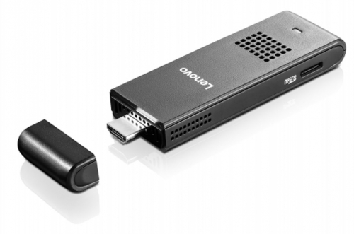 Lenovo releases affordable PC stick